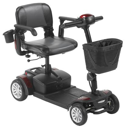 sfex2417fs-21 Spitfire Ex2 4-Wheel Travel Scooter  Extended