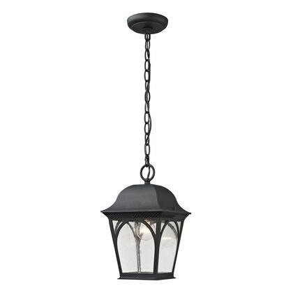 8301EH/65 Cape Ann 1 Light Outdoor Pendant Lantern In Matte Textured