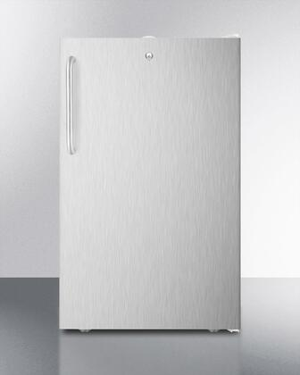 FF511L7SSTB 20 inch  Commercially Approved  Medical Compact Refrigerator with 4.1 cu. ft. Capacity  Crisper  Automatic Defrost and Door Lock:  Pro Towel Bar