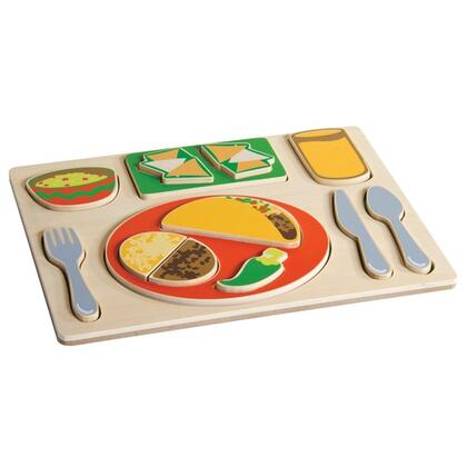 G464 Children's Sorting Food Tray Playset with