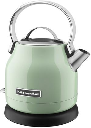 KEK1222PT 1.25 Liter Electric Kettle with Removable Lid  Simple Controls  Removable Base  and Stainless Steel Body  in