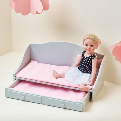 TD0096AG 18 inch Doll Furniture - Trundle Bed