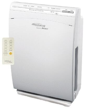 AH1CC01 HEPA Air Purifier with 660 ft. sq. Coverage Area  4 Fan Speeds  48 dBA  Programmable Timer  Odor Free  and 165 CFM  in