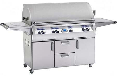 E1060S-4E1N-62 Echelon Diamond Series Freestanding Natural Gas Grill 1056 sq. in. Cooking Area with Hot Surface Ignition a Rotisserie Backburner and Cast E 242045