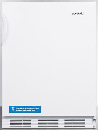 FF67ADA 24 inch  FF67ADA Series Energy Star  ADA Compliant  Medical  Commercial Freestanding Compact Refrigerator with 5.5 cu. ft. Capacity  Crisper  Interior Light