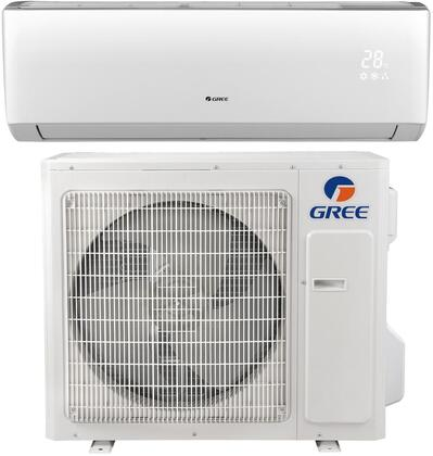 LIVS36HP230V1B Single Zone Mini Split Air Conditioner with 36000 BTU Cooling Capacity  736 CFM Cooling  Wireless Remote  Inverter Technology  in 787347