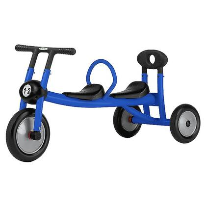 100-03 Pilot 100 Push for Two Tricycle - Blue Walker  2 Seats - No