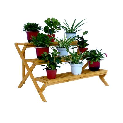 PS6133 3-Tier Wooden Step Plant