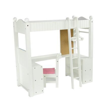 TD-0204A Little Princess 18 Doll Furniture - College Dorm Double Bunk