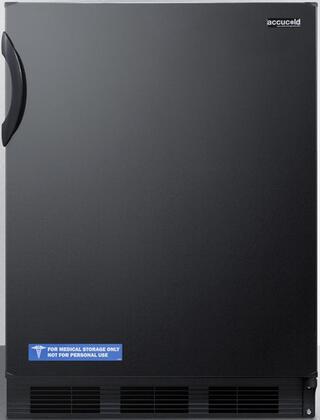 CT66BADA 24 inch  CT66JADA Series ADA Compliant  Medical Compact Refrigerator with 5.1 cu. ft. Capacity  Dual Evaporator  Zero Degree Freezer Compartment  Cycle