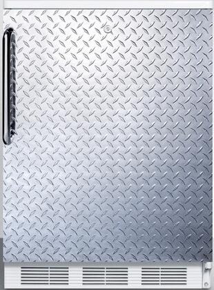 FF6LDPL 24 inch  FF6 Series Medical Freestanding Compact Refrigerator with 5.5 cu. ft. Capacity  Interior Light  Door Storage  Crisper and Automatic Defrost: