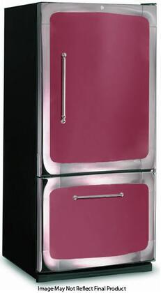"3015-00R-CRN 30"" 18.5 cu. ft. Capacity Freestanding Bottom Freezer Refrigerator  Digital Temperature Control  Auto Defrost  Glass Shelves and Right Hinge Door"