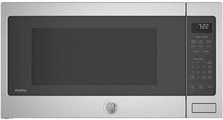 GE PES7227SLSS 25 Countertop Sensor Microwave Oven with 2.2 cu. ft. Capacity 1100 Cooking Watts