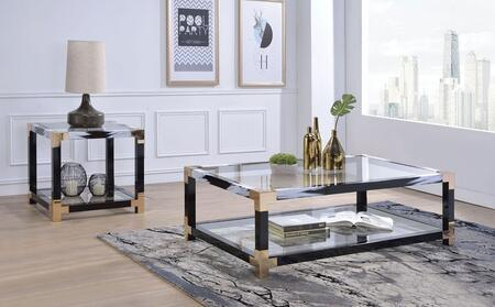 Lafty Collection 810002 2 PC Living Room Table Set with 54
