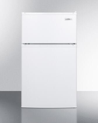 Summit CP351W Refrigerator, White