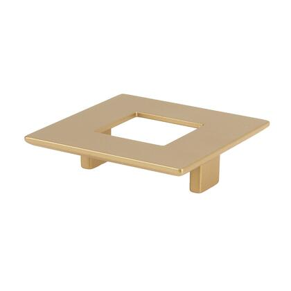 8-107001920903 Large Rectangular Pull With Hole 192Mm Matte