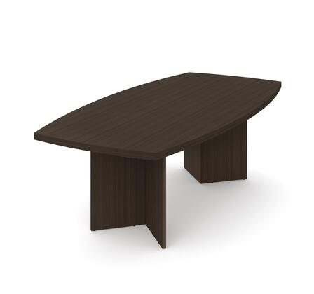 65776-79 Boat-Shaped conference table with 1 3/4