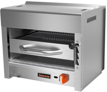 SRS-24 24 Salamander with 1 Burners  20000 BTU per Burner  20000 Total BTU  Stainless