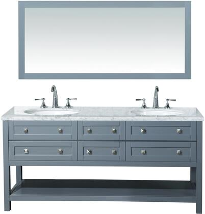 Click here for Marla HD-6868G-72-CR 72 Double Sink Bathroom Vanit... prices
