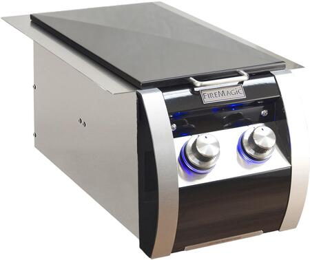 32814HP Echelon Black Diamond Series Liquid Propane Double Side Burner  in