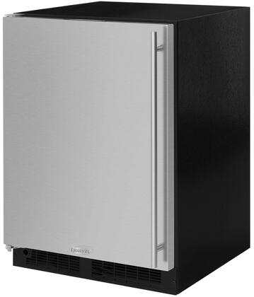 ML24RFS3LS 24 inch  Refrigerator and Freezer and Maxstore Bin with Dynamic Cooling Technology  Independent Temperature  Self Closing Freezer  and Vacation Mode  in