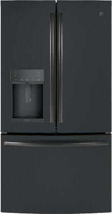 PYD22KELDS 36 inch  French Door Refrigerator with 22.2 cu. ft. Total Capacity  Counter-Depth Design  Door in Door  TwinChill Evaporator  and Hands-Free Autofill  in
