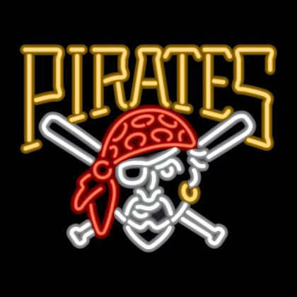 27-2029 Pittsburgh Pirates Neon Sign With Standard 110 Volt Plug & Ten Foot Power 259964