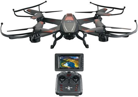 RIV-A12 RC Raptor FPV Drone with Built in HD Camera  4GB SD Card & Reader and 2.4Ghz Remote in