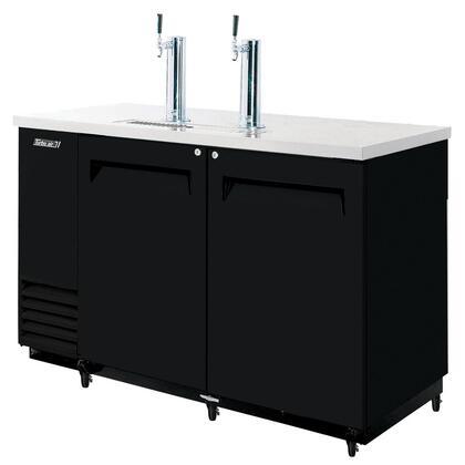 TBD2SB 2 Keg Beer Dispenser with Forced Cooling System  Incandescent Interior Lighting  Efficient Refrigeration System  High Density PU Insulation