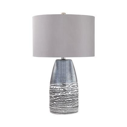 D2916 Kennebunkport 1 Light Table Lamp in Horizon Grey