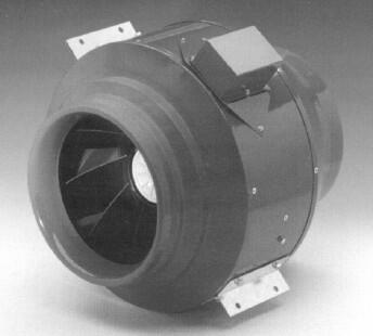 In-Line Ventilator With 392 CFM  6 Round
