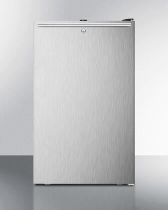 FF521BLBI7SSHH 20 inch  Commercially Listed Built-in Undercounter All-refrigerator with 4.1 cu.ft. Capacity  Auto Defrost  Door Lock and Adjustable Thermostat: