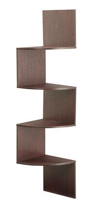 San Dimas Collection 99600 54 inch  Hanging Corner Wall Mounted Storage with 4 Contoured Shelves in