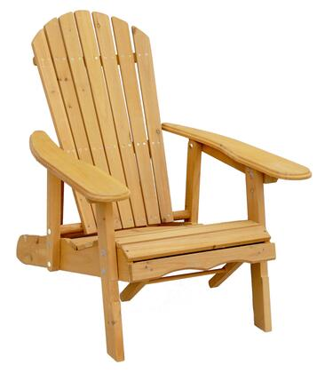 AC7105 Reclining Adirondack Chair With Pull-Out