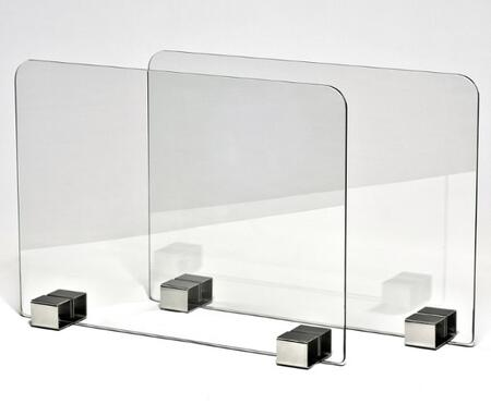 BR-09-2PC Glass Screen-Pair for Brasa