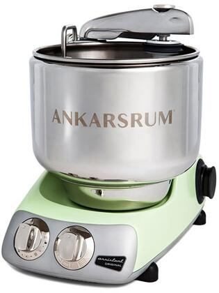 AKM6230PG Ankarsrum Original Mixer with 7 Liter Stainless Steel Bowl  3.5 L Double Whisk Bowl  Dough Hook  Roller  Scraper  Spatula  Dust Cover  Cookie Beaters