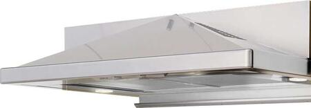 "ZPY-E30AS290 30"" Essentials Europa Series Pyramid Under Cabinet Range Hood with 290 CFM Internal Blower  3 Speed Slide Control  2 Dual Level Halogen Lamps and"