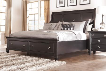 Greensburg King Bedroom Set With Storage Bed And Nightstand In