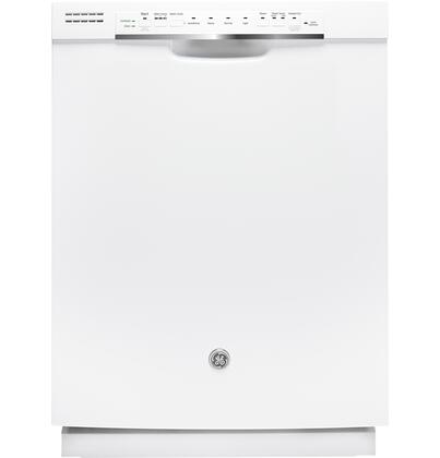 "GE 24"" Tall Tub Built-In Dishwasher White GDF570SGJWW"
