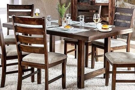 Click here for Wallis CM3463T Dining Table with Transitional Styl... prices