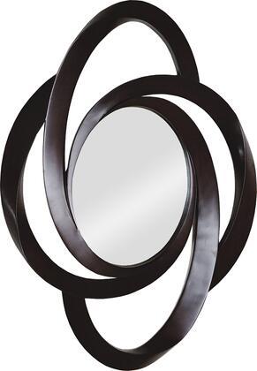MT744 49x35 Kiddo Mirror with PU Frame in Dark