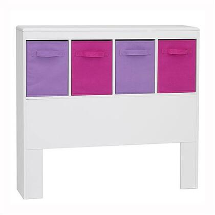12401 Girls Storage Bin White