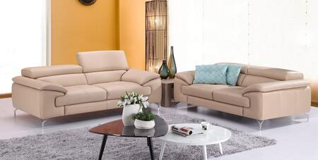 A973 Collection 179061113SL 2-Piece Living Room Set with Stationary Sofa  and Loveseat in