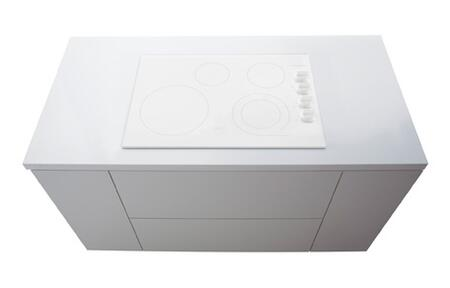"""Frigidaire Gallery 30"""" Built-In Electric Cooktop White Fgec3045kw"""