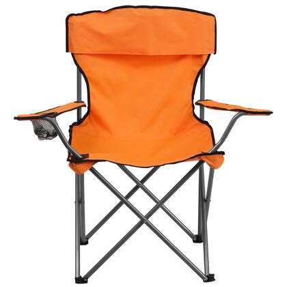 TY1410-OR-GG Folding Camping Chair with Drink Holder in 516122