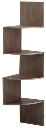 San Dimas Collection 99300 54 inch  Hanging Corner Wall Mounted Storage with 4 Contoured Shelves in
