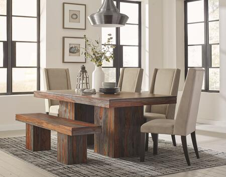 Click here for Binghamton Collection 107481BGC 6 PC Dining Room S... prices