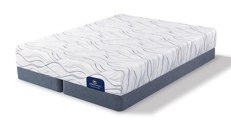 Meredith Way 500080688-QMFLPSPLIT Set with Luxury Firm Queen Mattress + 2x Split Low Profile