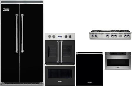 6 Piece Kitchen Appliance Package with 42