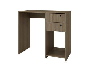 37AMC23 Accentuations by Manhattan Comfort Practical Pascara Work Desk with 2 - Drawers and 1 Cubby in
